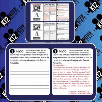 Liberty's Kids - American Crisis (E18) - Movie Guide   Worksheet Free Sample