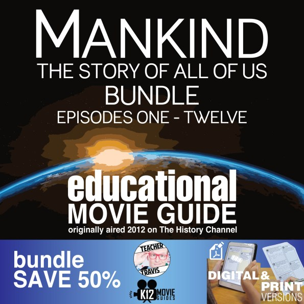 Mankind the Story of All of Us (E01 - E12) Bundled Movie Guides SAVE 50% Cover