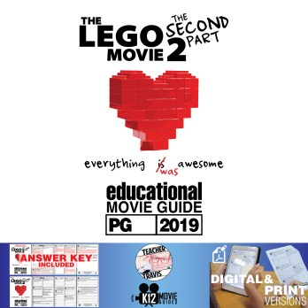 The Lego Movie 2: The Second Part - Guide | Questions | Worksheet (PG - 2019) Cover