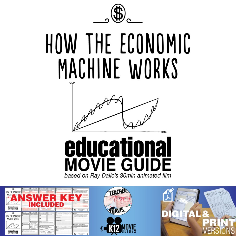 Ray Dalio - How the Economic Machine Works Guide Cover