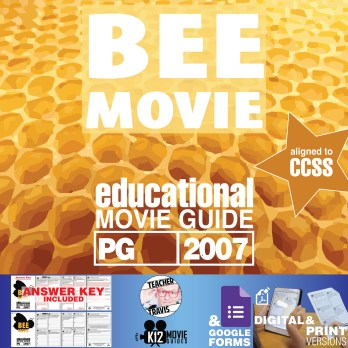 Bee Movie Movie Guide | Questions | Worksheet (PG - 2007) Cover