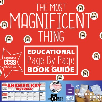 The Most Magnificent Thing Read Aloud Book Guide | Questions | Google Classroom Cover