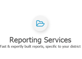 Our experts can build custom COGNOS reports for your school district, using your data.