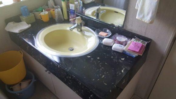 洗面所 リフォーム前