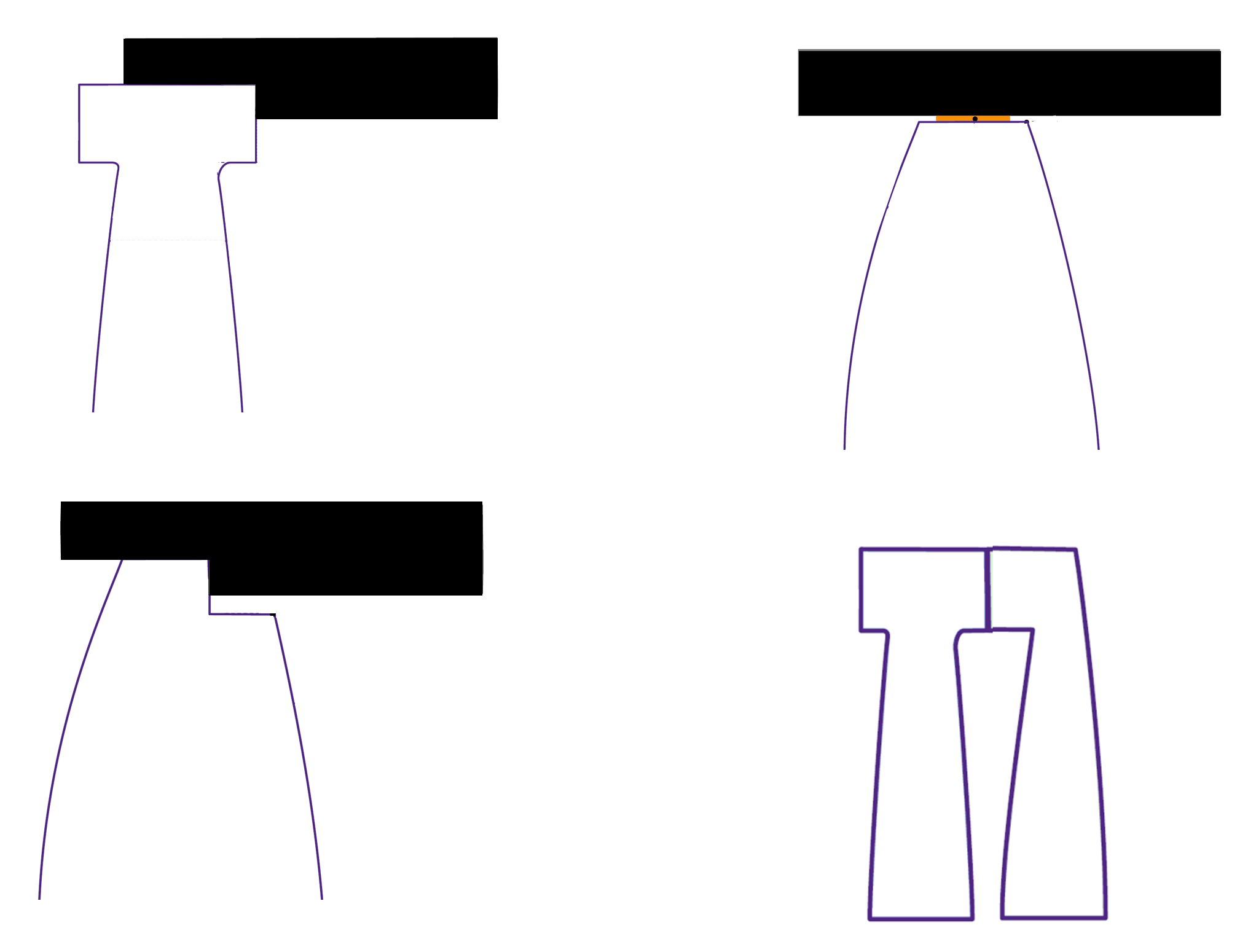 athermal seat mounting types modeled