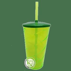 Copo Twister c/ Tampa Verde Neon