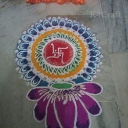 Flower Pattern Rangoli Designs Gardening Flower And Vegetables