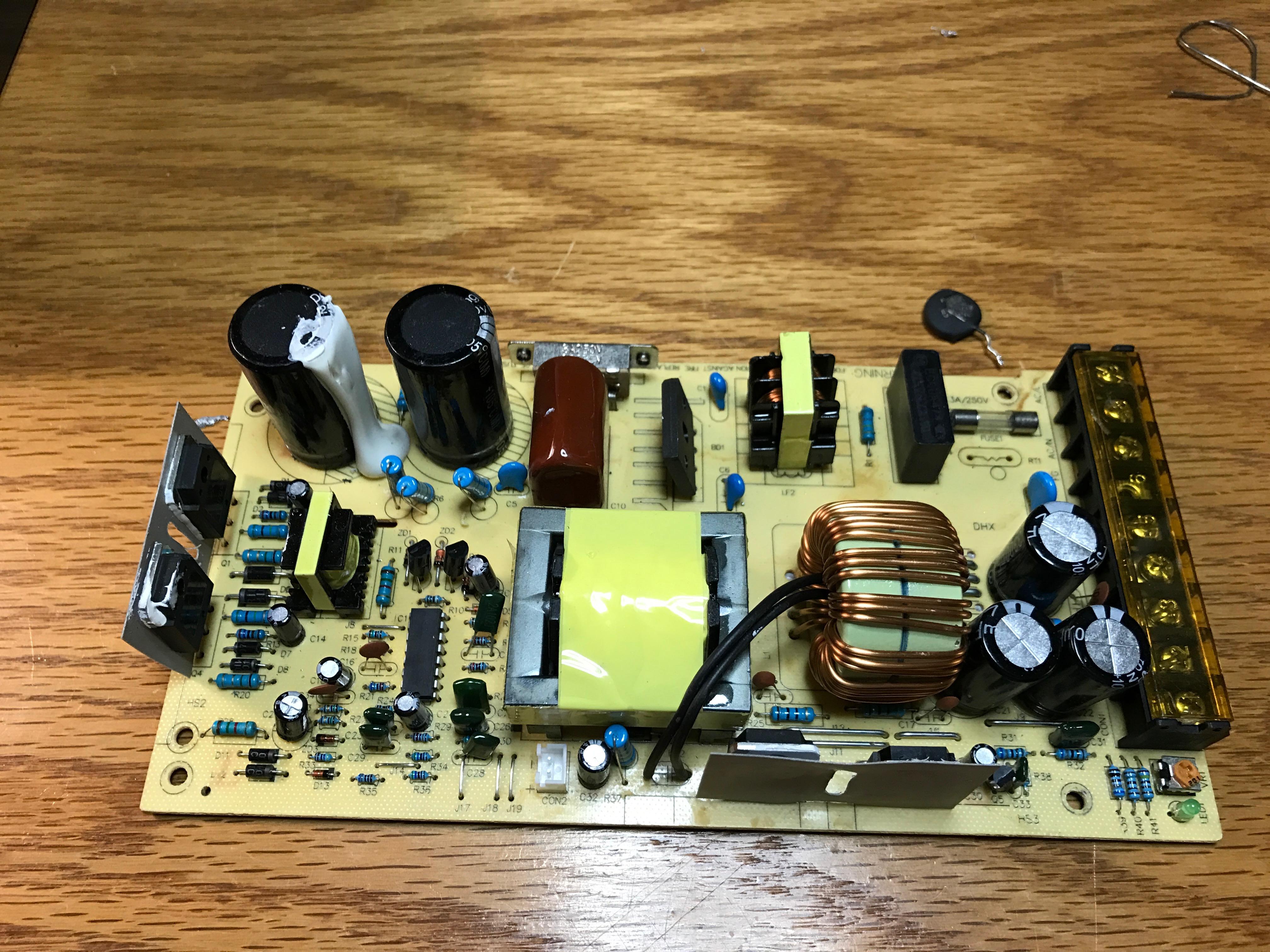 12v 30a Power Supply Repair – K4NHA