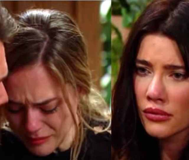 Bold And The Beautiful Spoilers Week Of Jan  Steffy Pursues Adoption Hope And Liam Struggle Soap Dirt