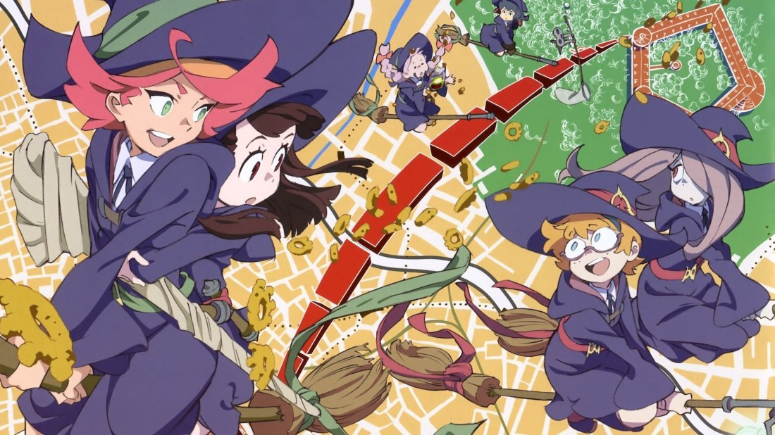 Little Witch Academia (TV) - NekoAnimeDD