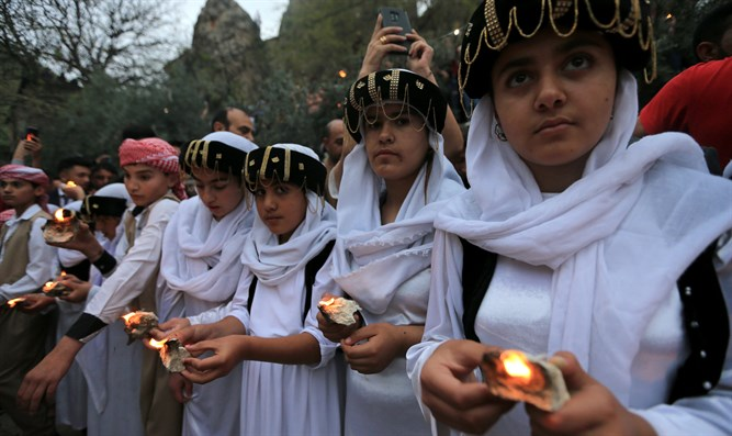Iraqi Yazidis celebrate the Yazidi New Year