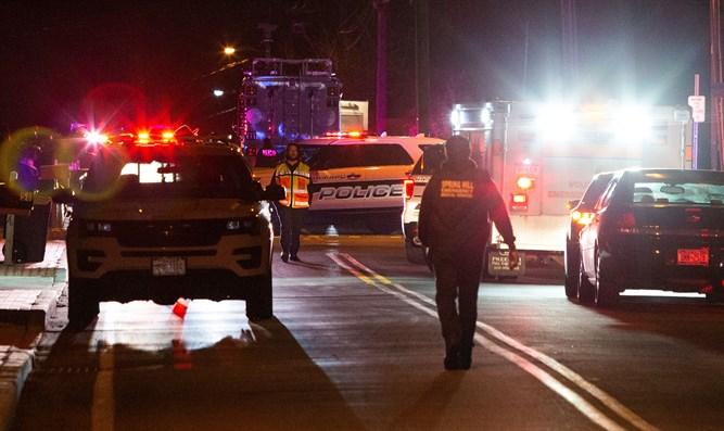 Scene of Monsey synagogue attack