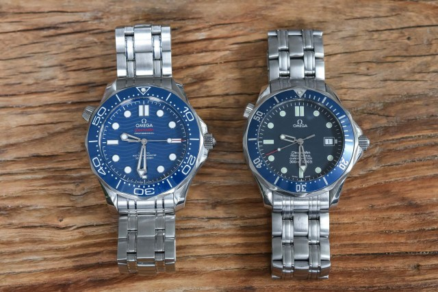 Omega Seamaster Professional and Diver 300M
