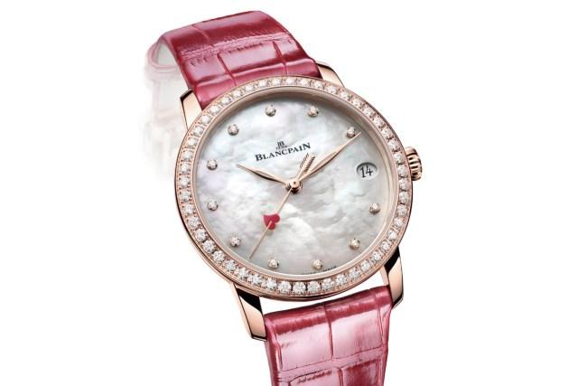 Women's Watch Wednesday – The Blancpain Villeret Saint-Valentin 2021