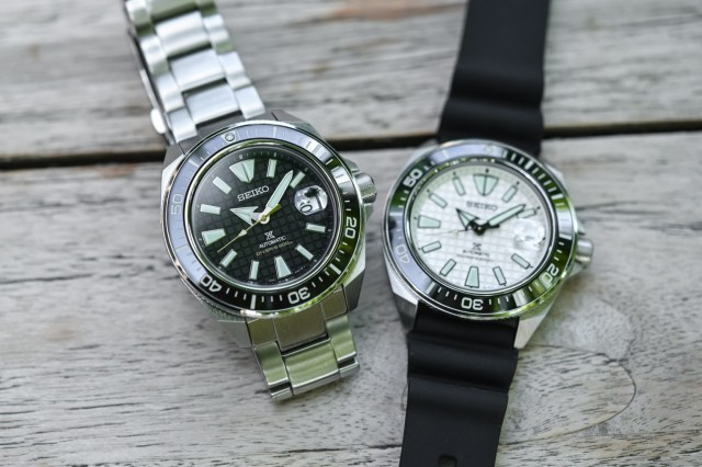 Hands-on – The Seiko Prospex Diver's King Samurai SRPE35K1 & SRPE37K1