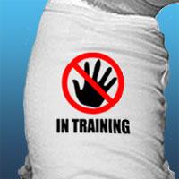 In Training dog shirt