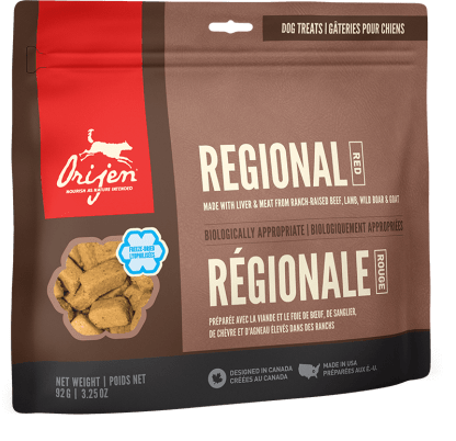 orijen treat regional red