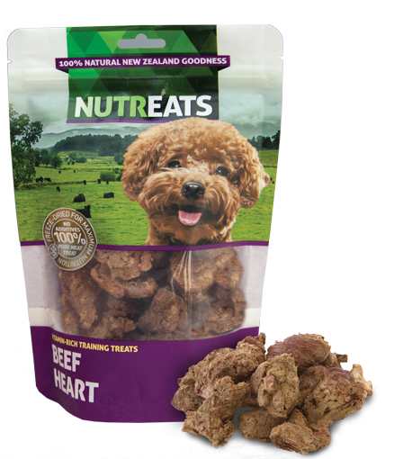 Nutreats Dog Beef Heart