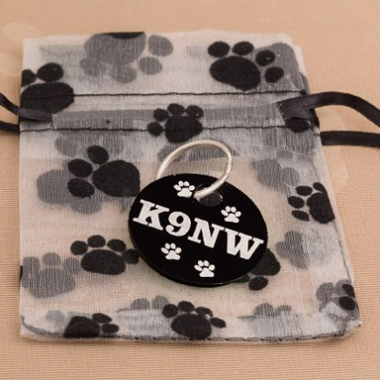 Paw Print Gift Bag Only