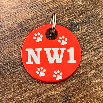NW1 - RED Brag Tag