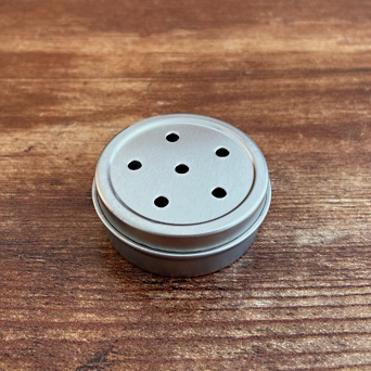 Silver 1:2oz Pushtop 6 Holes