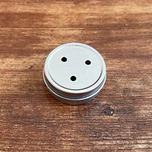 Silver 1:4oz Pushtop 3 Holes