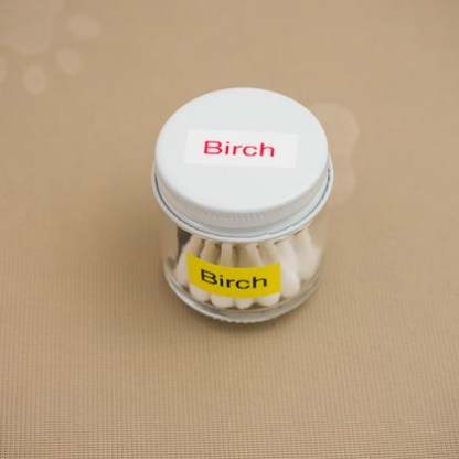 Birch scented Q-Tips