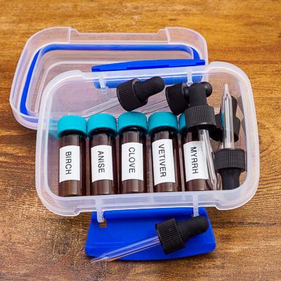 UKC - Oils - Birch, Anise, Clove, Vetiver and Myrrh 1 Dram in Boxed Set