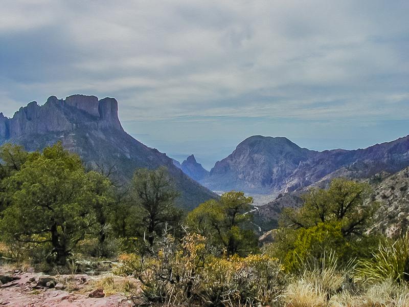 Big Bend NP Lost Mine Trail