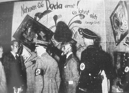 degenerate art & hitler
