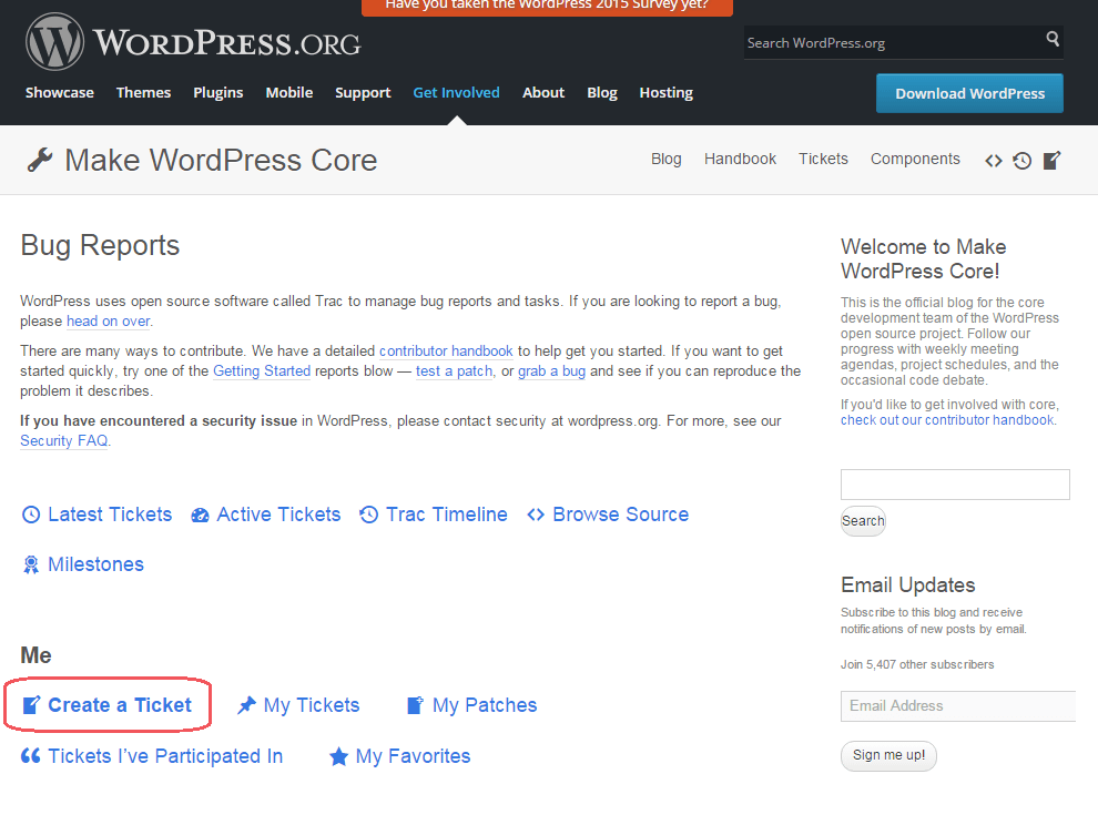 Make WordPress Core