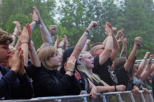 Kuopio Rockcock yleisöä
