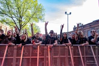 Yleisö, Steelfest 2019