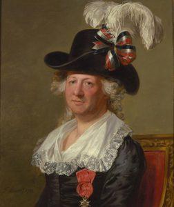 National Portrait Gallery´s billede af d´Eon, malet af Thomas Stewart.