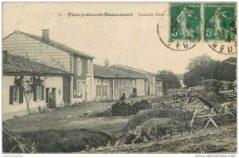 Postkort fra dengang, der endnu var lidt tilbage af landsbyen...