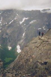 Utsikt ned i Romsdalen