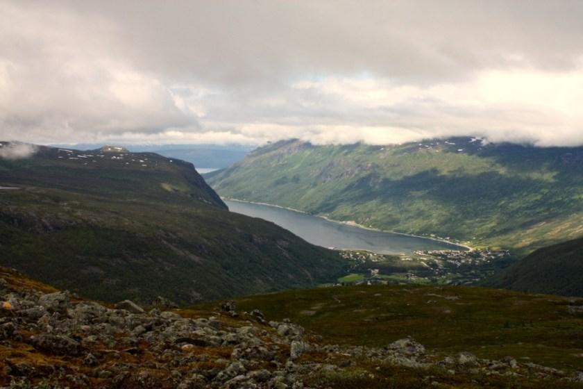 Utsikt mot Beisfjord.
