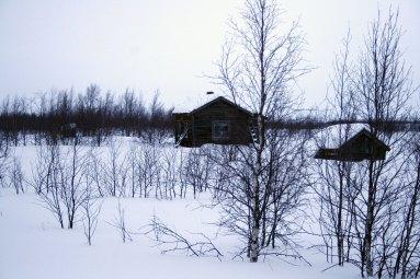 Huset i Goahteluoppal.
