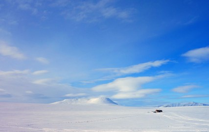 God plass under Vuorji (1024 moh.). Foto: Edmund J. Grønmo.