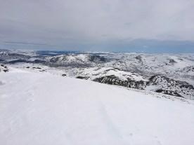 Utsikt østover mot Sjodalen.