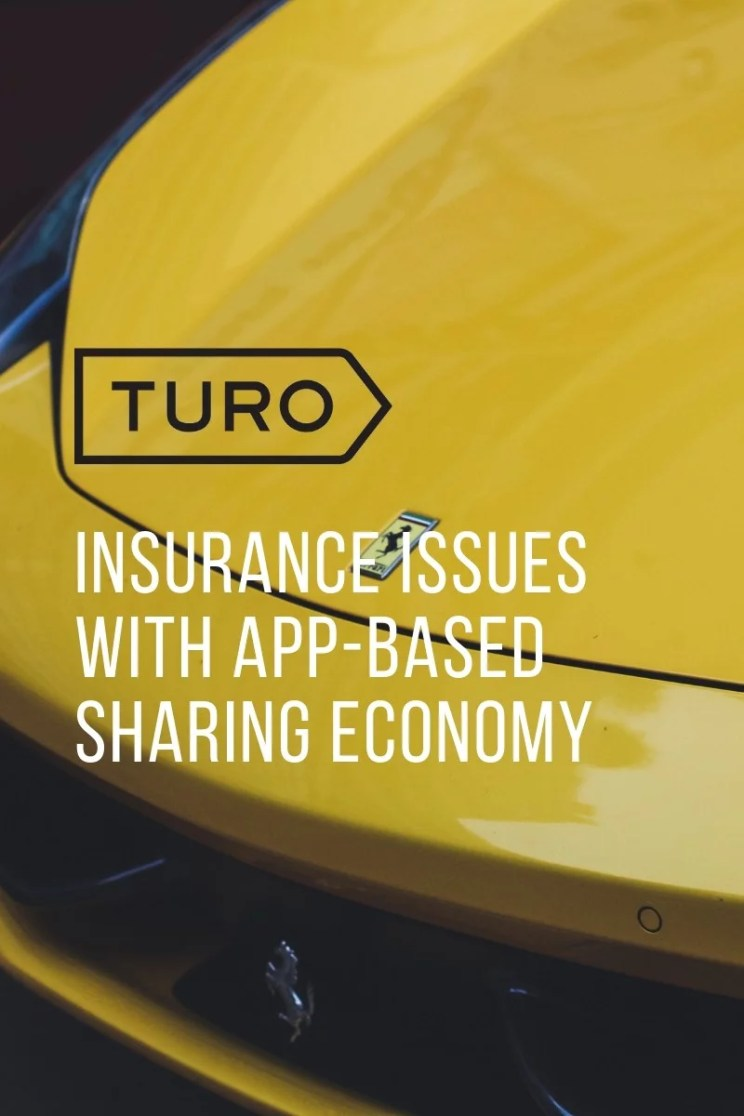 Insurance Issues with App-Based Sharing Economy