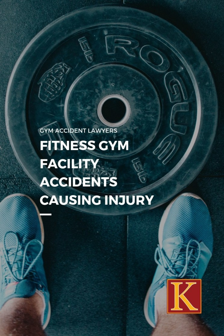FITNESS GYM FACILITY ACCIDENTS CAUSING INJURY