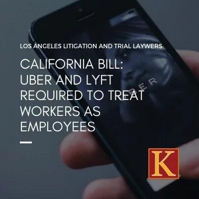 uber lyft employees california