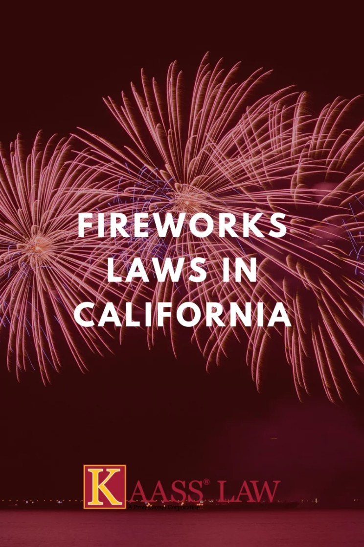 Fireworks Laws in California