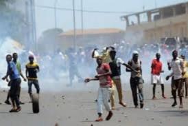 Boké : Regain des tensions après la mort d'un jeune manifestant