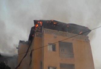 Incendie à la Minière: Un bâtiment et son contenu partis en fumée