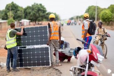 Dabola: Arrêt précoce de nouveaux lampadaires dans la Commune Urbaine (CU)