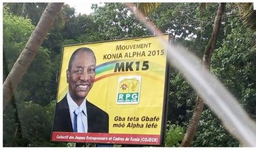 Panneaux de campagne électorale : par où sont passés les opposants ?