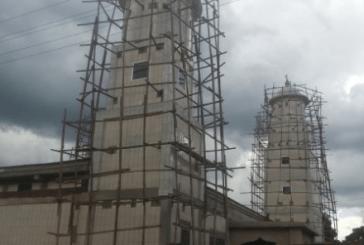 Tougué : poursuite des travaux de 1ère mosquée de Fatako âgée de plus de 600 ans