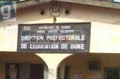 Boké: Le DPE, Sinè Magassouba confirmé, les religieux et enseignants remercient le président de la République